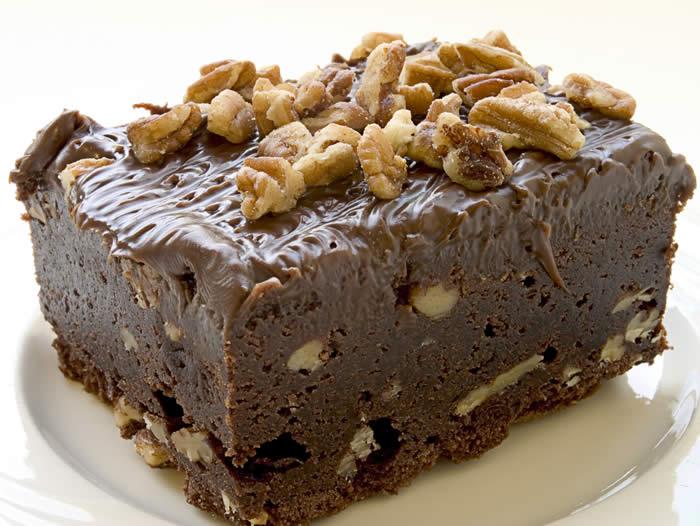 tarta de brownie